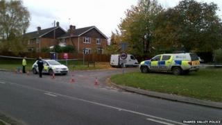 Police at Salt Lane