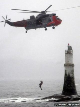 Rescue at Dunoon