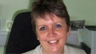 IoM prison governor, Alison Gomme