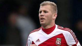 Wrexham striker Andy Bishop