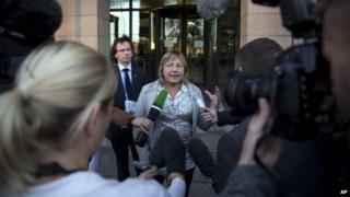 Mayor of Calais Natacha Bouchart