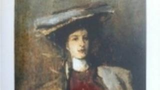 Portrait of a Lady, by Sir John Lavery was one of the paintings stolen