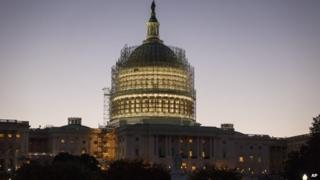 US capitol dome on 24 October 2014