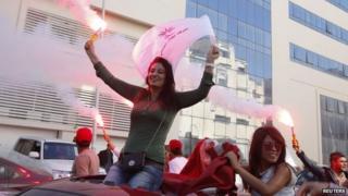 Nidaa Tounes supporters 28 Oct 2014
