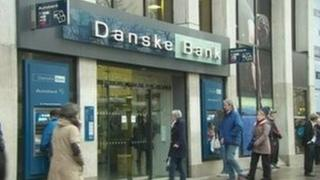 Danske Bank's chief executive in Northern Ireland believes the economy is showing signs of improvement