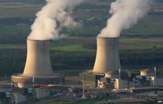 French nuclear plant at Cattenom in north-eastern France (file pic 2006)