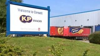 KP factory in Consett
