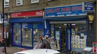 Quality Food Store in Borough, south London