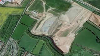 Dorket Head landfill site