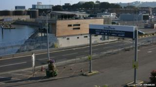 Plymouth ferry port