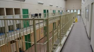 Wing in Guernsey Prison
