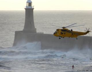Pier rescue