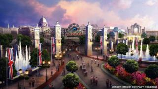 Paramount Pictures entertainment resort