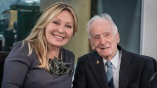 Kirsty Young with Eric Brown appearing on Desert Island Discs