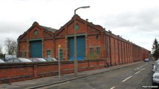 Maryfield tram depot
