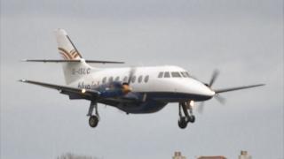 Blue Islands Jetstream plane