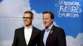 David Cameron and Alexander Stubb