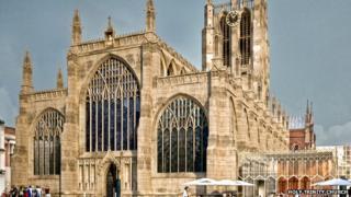 Holy trinity church in Hull