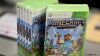 Xbox version of Minecraft