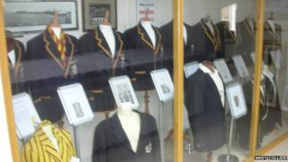 Cricketing blazers