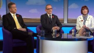 Keith Brown, Stewart Hosie and Angela Constance