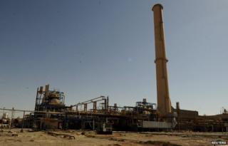 A general view of a Baiji oil refinery in Baiji, north of Baghdad, September 11, 2014