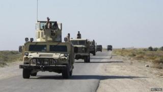Iraqi forces in Jurf al-Sakhar, October