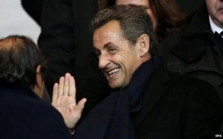 Ex-President Nicolas Sarkozy (9 Nov)