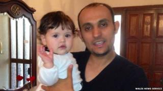 Talia with father Maher Belaid