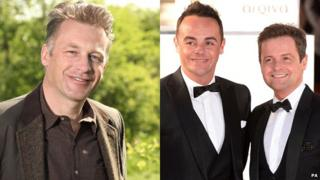Chris Packham and Ant and Dec