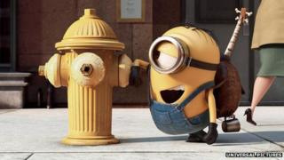 Still from Minion movie