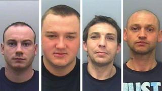 Ryan Singleton, Anthony Martin, Steve Webster, Darren Twigger