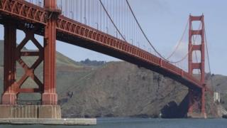 Golden Gate Bridge in San Francisco 3 May 2014