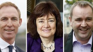 Jim Murphy, Sarah Boyack and Neil Findlay