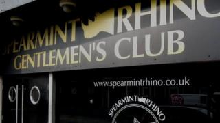 Spearmint Rhino club in Sheffield