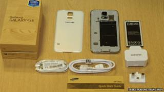 Fake phone and accessories
