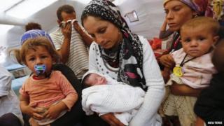 Syrian Kurdish refugees in Turkey - 13 November