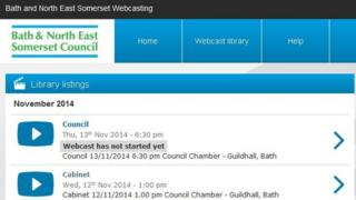 Bath and North East Somerset Council website