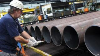 Steel pipe manufacturing in Germany