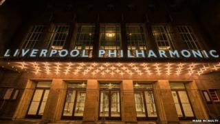 exterior of Liverpool Philharmonic