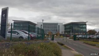 Peugeot Citroen HQ in Coventry