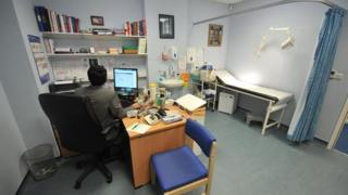 GP consulting room
