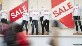 Shop sale signs