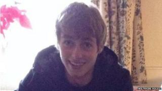 Max Lewis, died in Melksham car crash, 15th November 2014