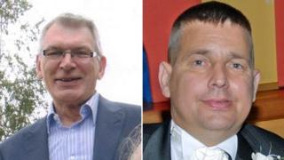 Robert Stuart and Darren Hughes