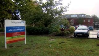 The NSFT based at Hellesdon Hospital