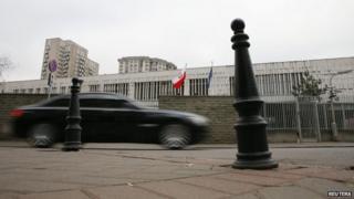 Polish embassy in Moscow (17 Nov)