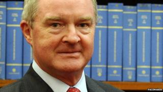 Lord Chief Justice Sir Declan Morgan