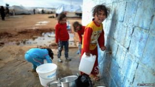 There are more than 80,000 refugees in Jordan's Zaatari camp