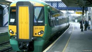 Bombardier Electrostar train